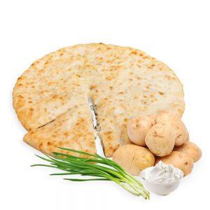 Пирог с картошкой и зелёным луком - Заказть пирог в Калининграде- Доминика 39
